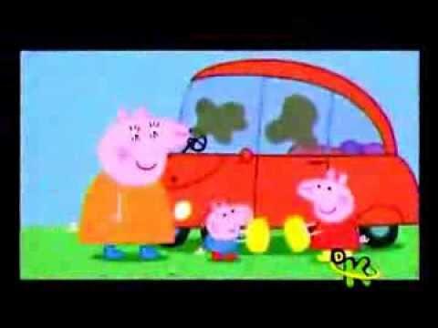 Peppa la cerdita, limpiemos el auto Videos De Viajes