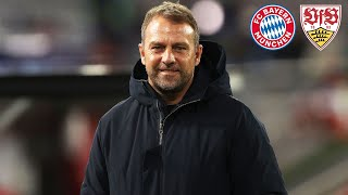 🎙️ Großes Kompliment an mein Team! Pressekonferenz mit Hansi Flick | FC Bayern - VfB Stuttgart