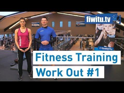 Fitness Training #1 - Vorstellung / Squat / Kniebeuge / Work Out/ Fiwitu.tv / Health City