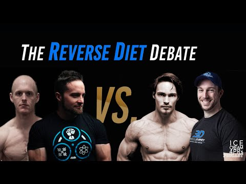 THE REVERSE DIET DEBATE: Eric Helms + Menno Henselmans vs. Layne Norton + Peter Fitschen