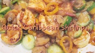 Pepper Shrimp Caribbean style (quick)