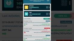 Cara untuk CONVERT unitcoin kepada BITCOIN menggunakan UNITPAY Wallet