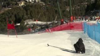Estreno deoro para Jon Santacana en el Mundial de Esquí Alpino en La Molina