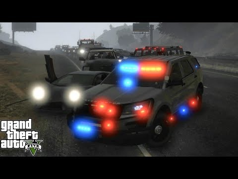 GTA 5 MODS LSPDFR 1026 - UNMARKED EXPLORER PATROL!!! (GTA 5 REAL LIFE PC MOD) FOGGY