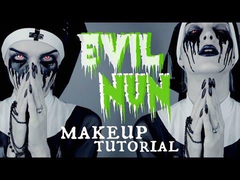Evil Nun Makeup Tutorial