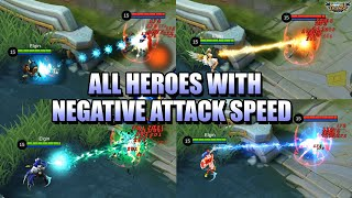 Download Mp3 NEGATIVE ATTACK SPEED ON ALL HEROES DOMINANCE ICE AND GOLDEN STAFF BUG MLBB