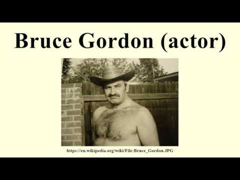 Bruce Gordon actor