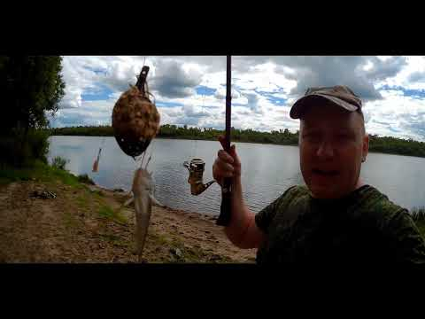 Рыбалка на Оке июнь 2018