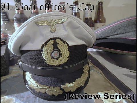 095141326c0 Kriegsmarine U-Boat officers cap (Review Series) - YouTube