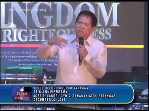 Kingdom of Righteousness - Bro. Eddie C. Villanueva