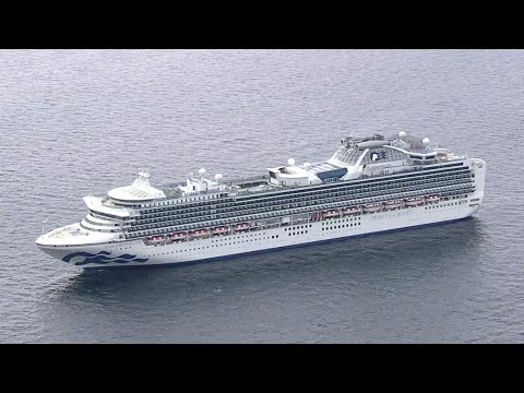 На круизном лайнере у берегов Японии у десяти пассажиров обнаружили коронавирус.