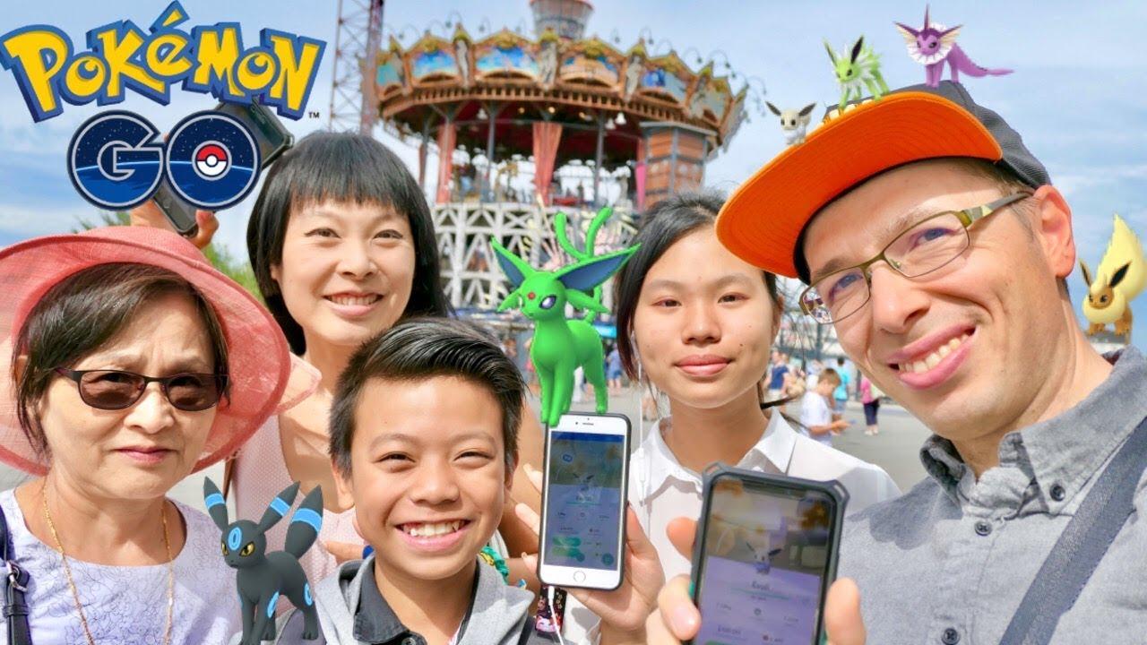 Pokémon Go 61 évoli Day à Nantes Shiny Chromatiques