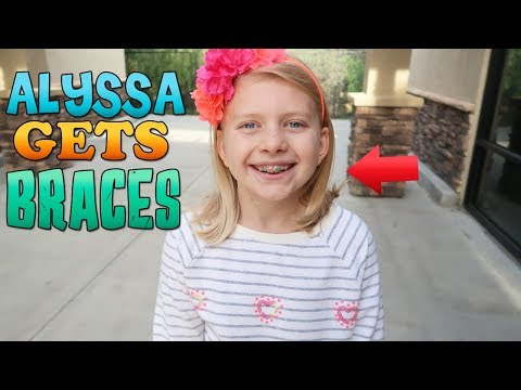 Alyssa Gets BRACES!