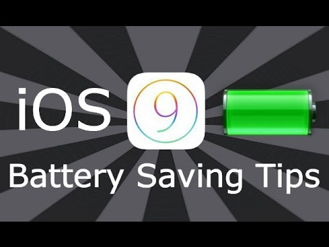 iOS 9 / 10 / 11 / 12 Battery Saving Tips For iPhone, iPad & iPod Touch