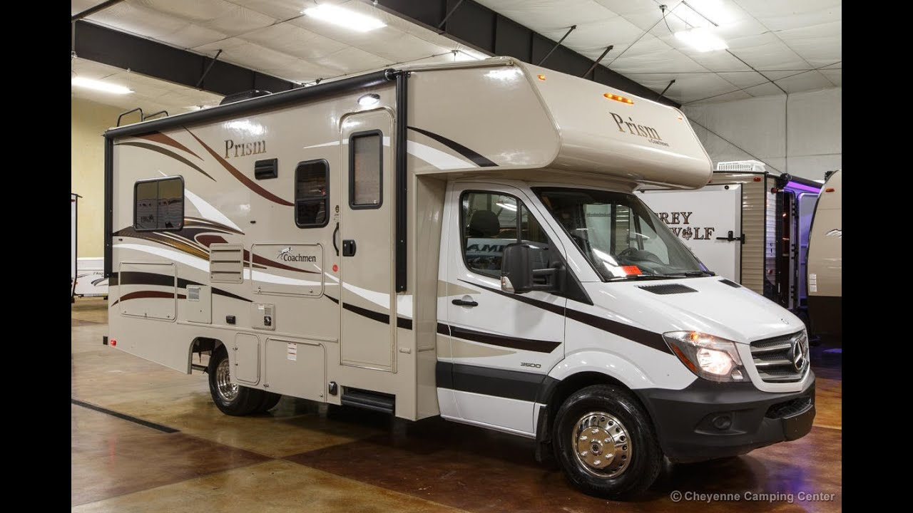 Coachmen Prism 2150 Le Class C Mercedes Diesel Sprinter Motorhome Review At Cheyenne Camping Center