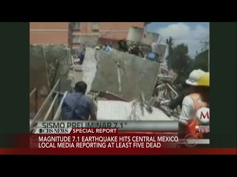 7.1 Magnitude Earthquake Rattles Mexico City