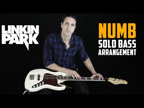 Download Youtube: Linkin Park - Numb (Solo Bass Tribute To Chester Bennington)