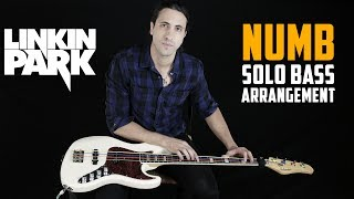 Linkin Park - Numb (Solo Bass Tribute To Chester Bennington)