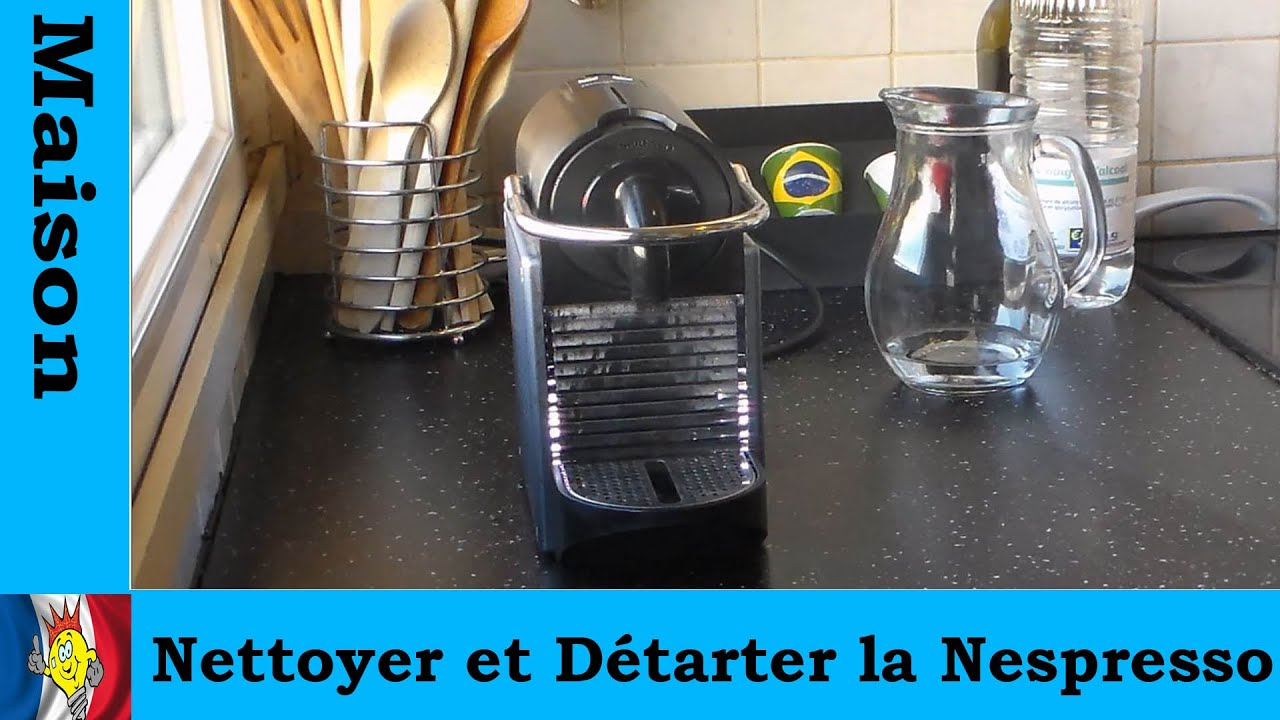 nettoyer et d tartrer la nespresso youtube. Black Bedroom Furniture Sets. Home Design Ideas