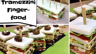 connectYoutube - Tramezzini Finger-food, ricetta semplice per buffet - Tutti a Tavola