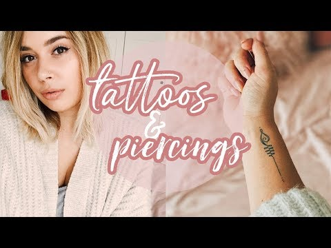 Tattoos and Piercings | Hello October Vlogtober Day 9