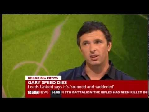 Gary Speed Final Public Appearance On The BBC Football Focus Show