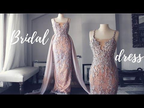 making-a-wedding-party-dress-|-second-wedding-dress