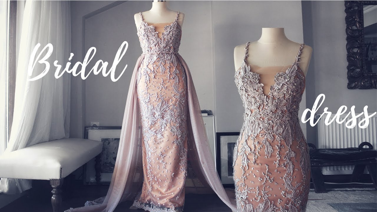 Making A Wedding Party Dress Second