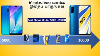 Best Phone under 5000 to 20000