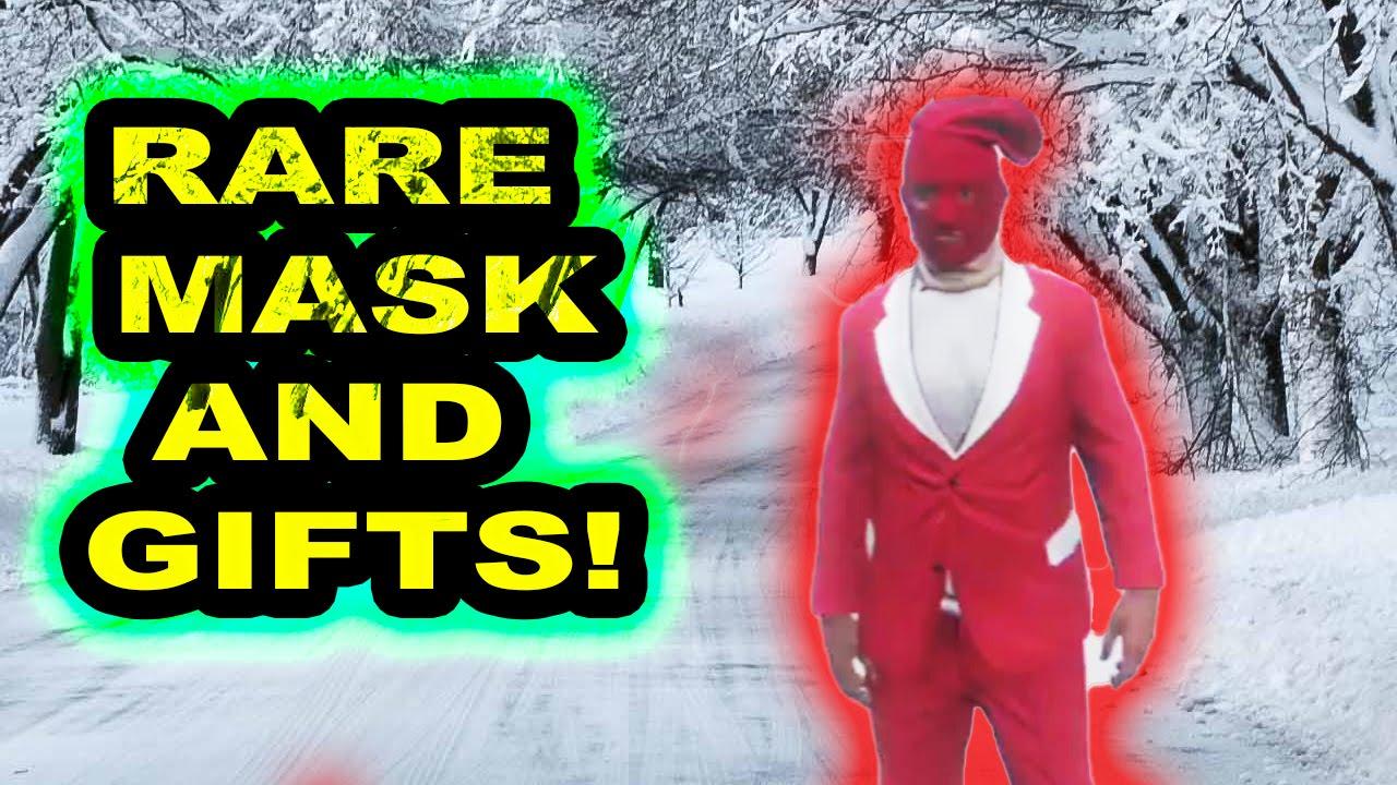 All Christmas Mask Gta 5.Gta 5 Christmas Dlc Rare Stocking Mask Gifts How To Unlock Red Christmas Mask Gta 5 Gameplay