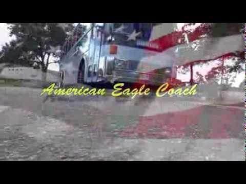 ▶ American Eagle Coach Charter Bus Company Ocala, Florida