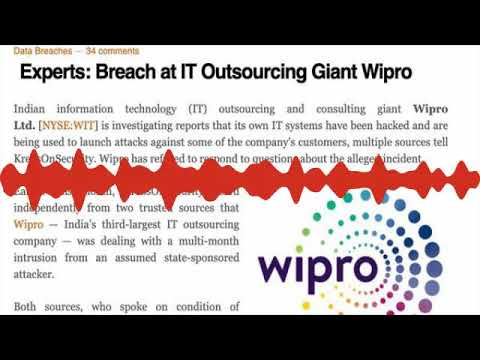 Wipro customers hacked, says Krebs  Nothing to see here, says Wipro
