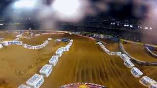 GoPro HD: James Stewart Wins Main Event – Oakland Monster Energy Supercross 2012