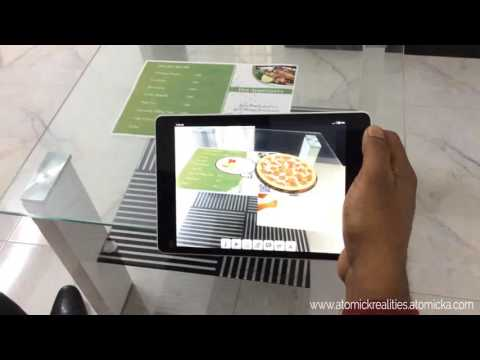 SMART Restaurant Menu Card Powered by Augmented Reality