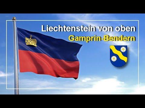 Download Gamprin-Bendern / Liechtenstein von oben 4K Drone