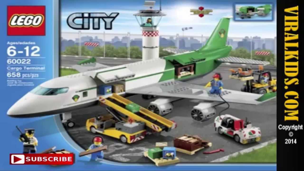LEGO City 60020 + 60021 + 60022 - YouTube