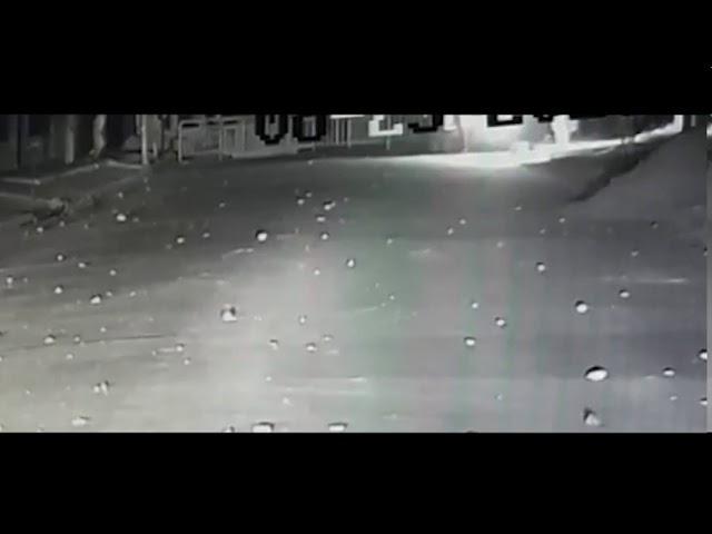 Incidentes en el asentamiento de Parque La Vega: así arrojaban una bomba Molotov los manifestantes