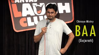 Baa | Gujarati Stand-Up Comedy by Chirayu Mistry