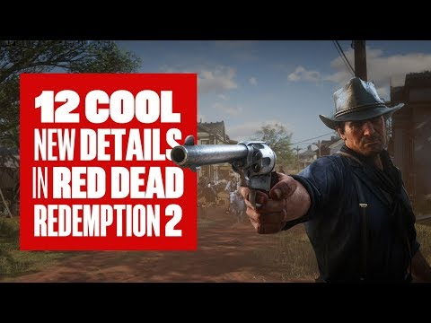 12 cool details in new Red Dead Redemption 2 gameplay