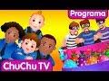 ChuChu TV Huevos Sorpresas de Policías – Episodio 03 - La Persecución en el Ferrocarril