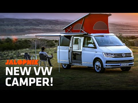"Inside The Awesome New VW Camper ""California"""