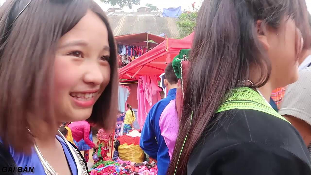 Chợ Tình (T5) | Bén duyên với em gái H'Mông xinh gái ở Chợ Tình Khâu Vai - 2019 | GÁI BẢN