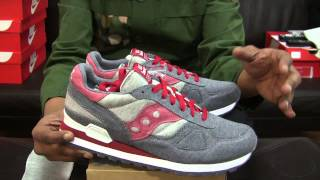 BAIT x Saucony Cruel World 4: Midnight Mission...a shoe for a cause.