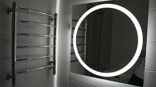 Зеркало с подсветкой за 2500 рублей в ванную комнату обзор