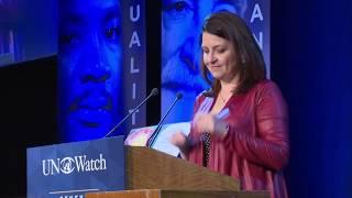 Presentation of 2019 Morris B. Abram Human Rights Award to Rosa María Payá
