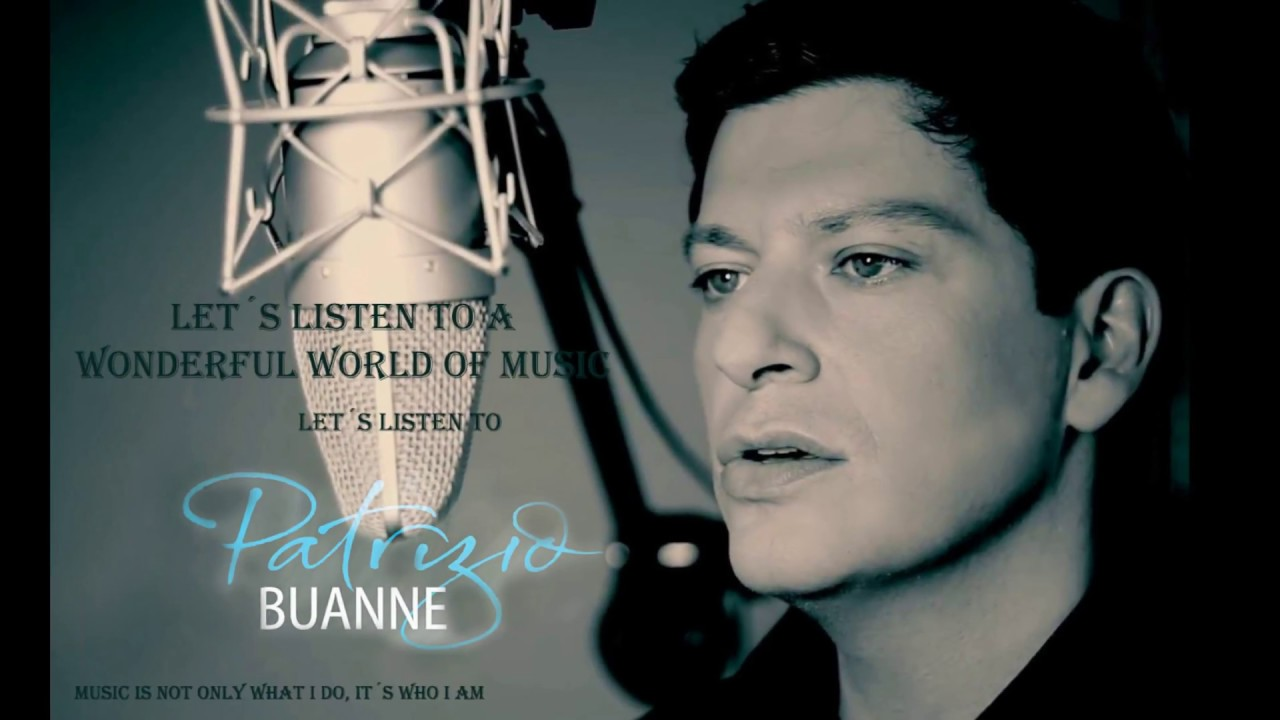Patrizio Buanne On The Street Where You Live Youtube