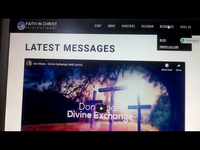 How To Upload Weekly Sermon Videos - FiciChurch.org