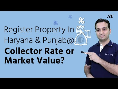 Collector Rate in Haryana & Punjab - Stamp Duty and Property Registration