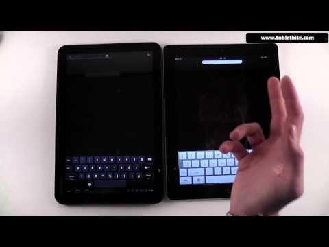Android Honeycomb 3.0 vs iOS comparison - 1st part