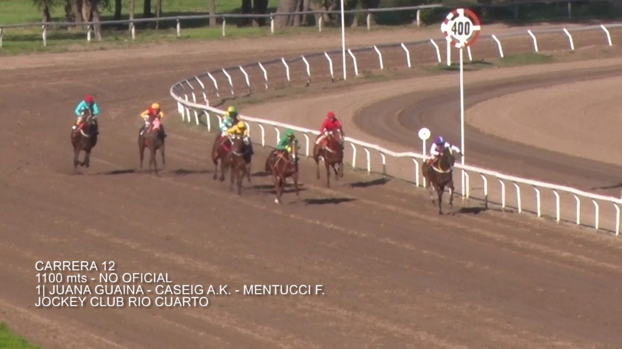 Carrera 12 21 De Mayo Jockey Club Rio Cuarto